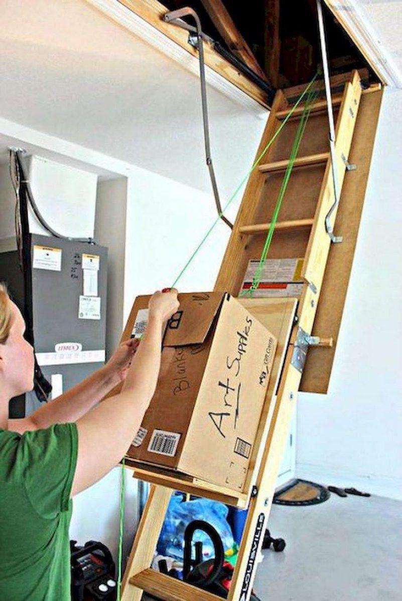 Top Garage Storage Tips Attic Storage Attic Lift Attic Renovation