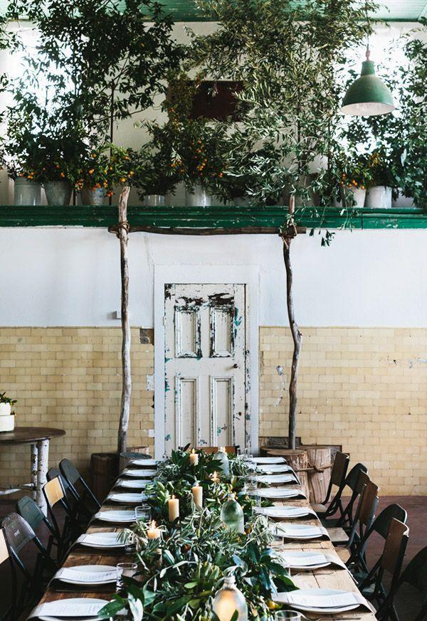 Gorgeous Green Table Setting Tutti A Tavola Pinterest