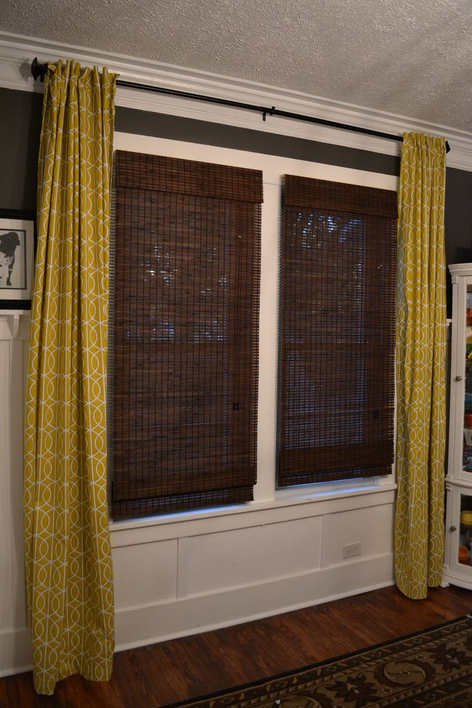 Dining Room curtains by Dwell Studio  New house decor