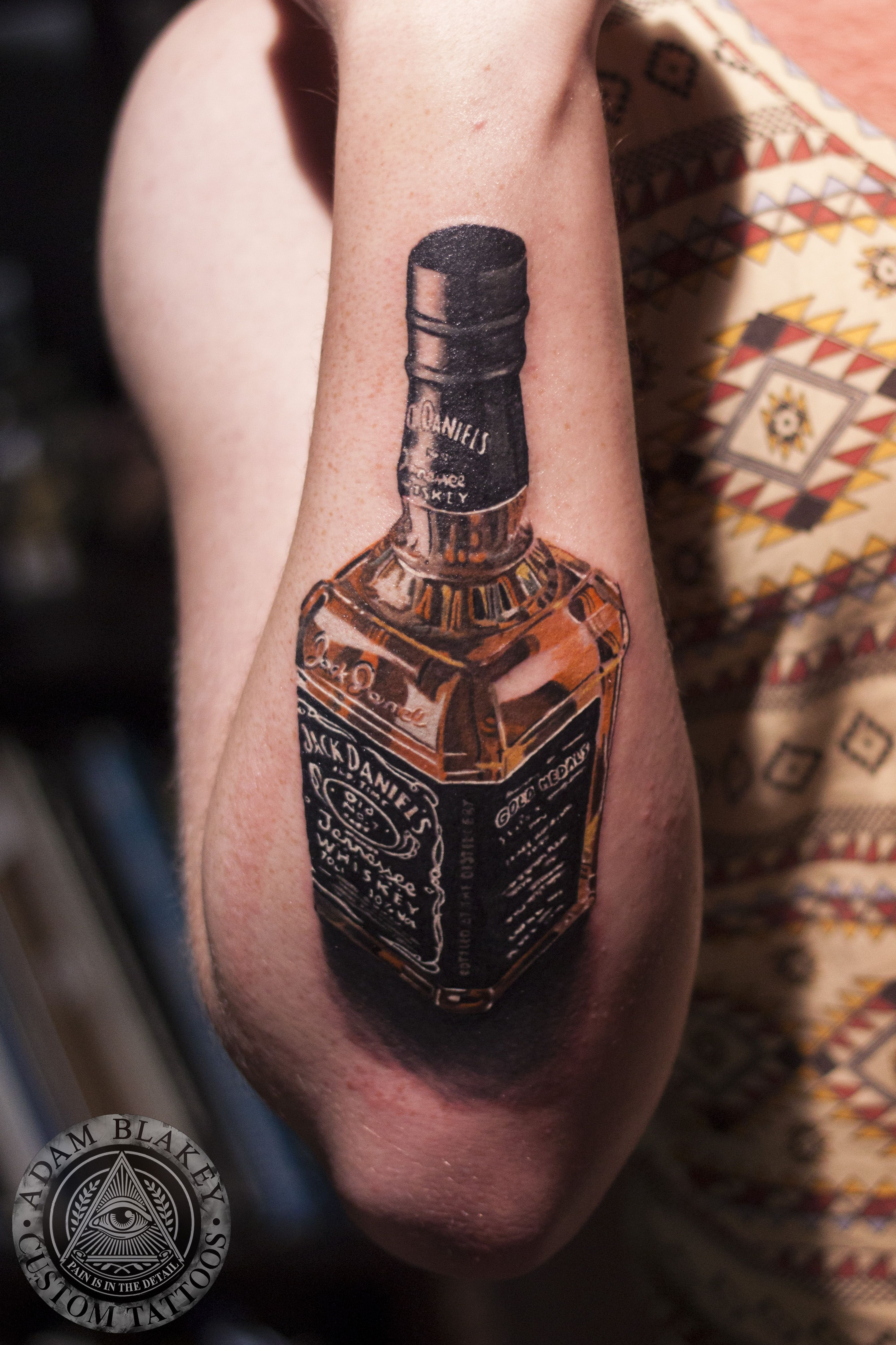 Route 66 tattoo picture at checkoutmyink com - Jack Daniels