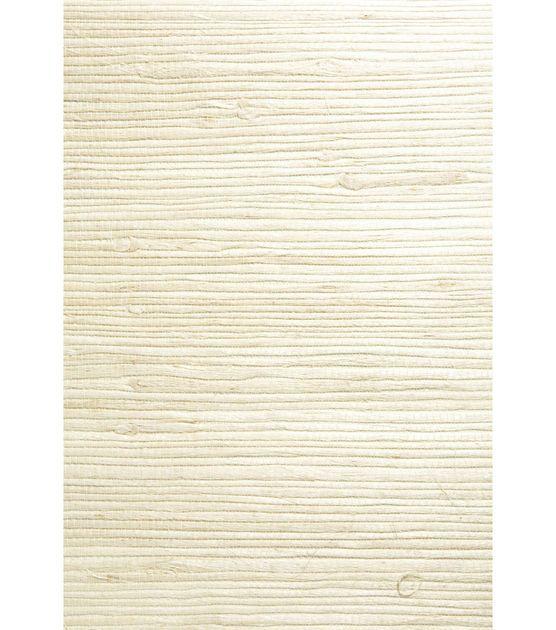 Shuang Cream Grasscloth Wallpaper Grasscloth wallpaper