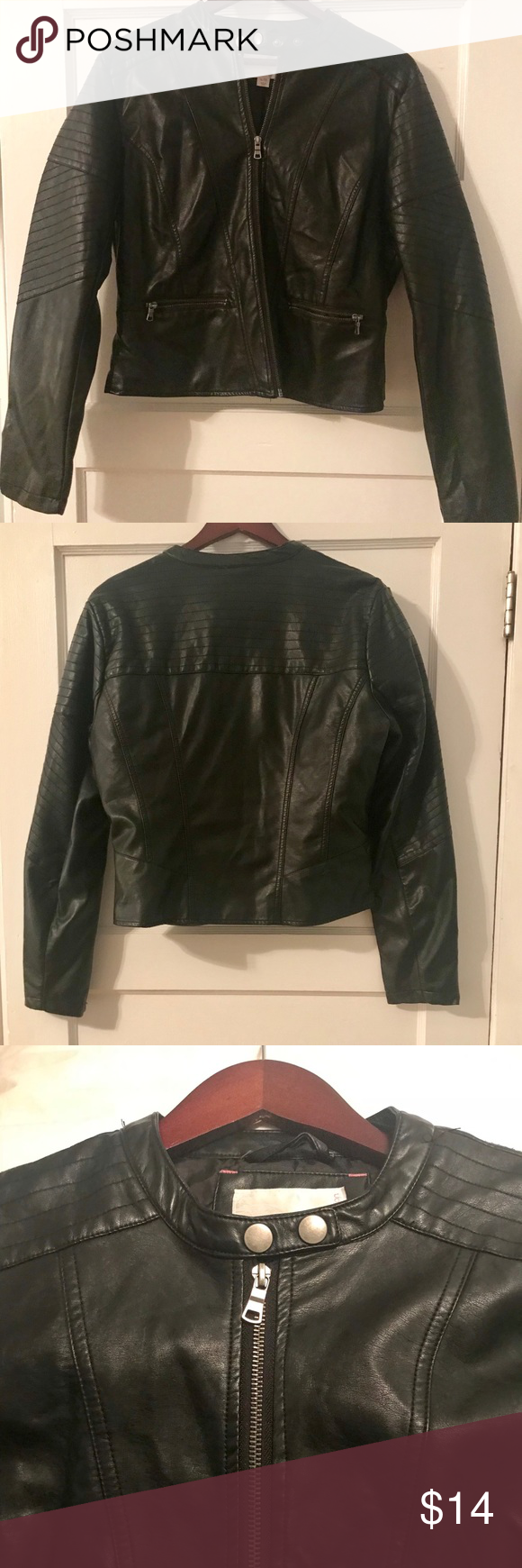 Bundle Save Black Faux Leather Jacket Black Faux Leather Jacket Leather Jacket Faux Leather Jackets [ png ]