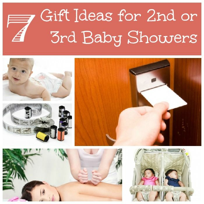 2nd And 3rd Baby Shower Gift Ideas