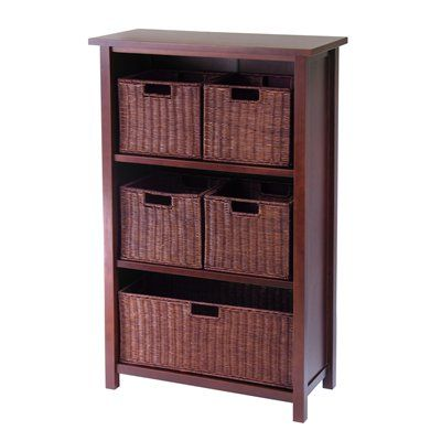 Attrayant Winsome Wood 94313 Milan Shelf Piece Decorative Storage Cabinet This  Winsome Wood Storage Cabinet Is Available