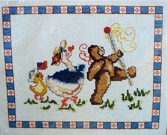 Parade  Counted Cross Stitch Kit  9 x 71/2 by DocksideDesignsEtc, $6.50