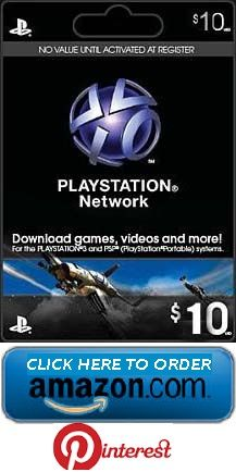 $10 Playstation Network | Playstation Store Gift Cards | Pinterest