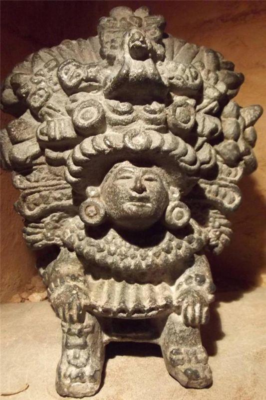 mayan corn god statue   mayan statue mayan statue ...