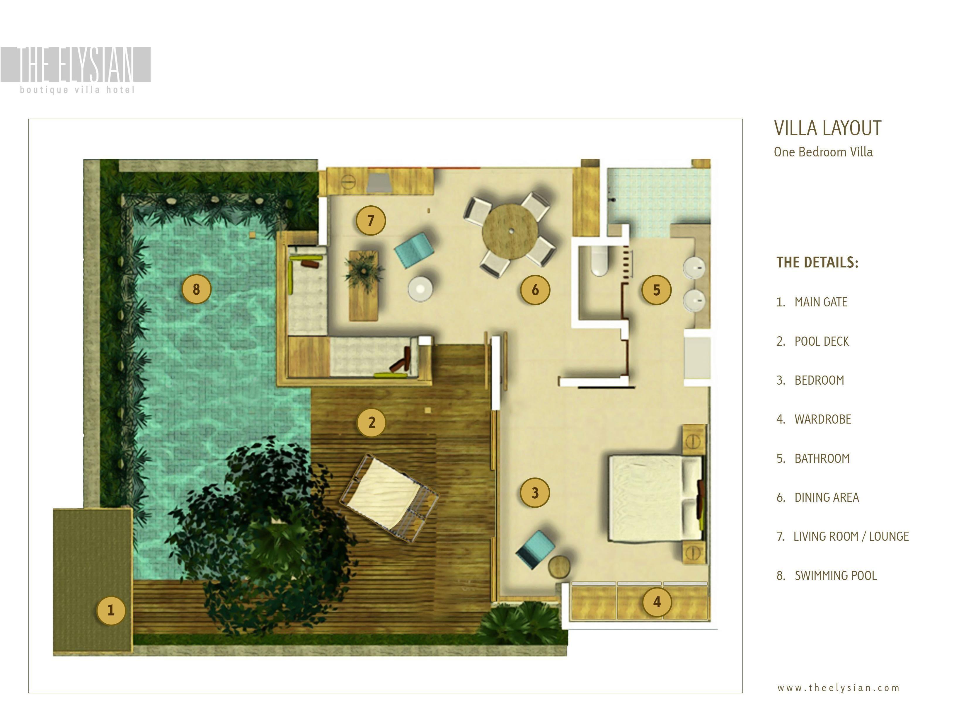 The Elysian Boutique Villa Hotel Bali Indonesia