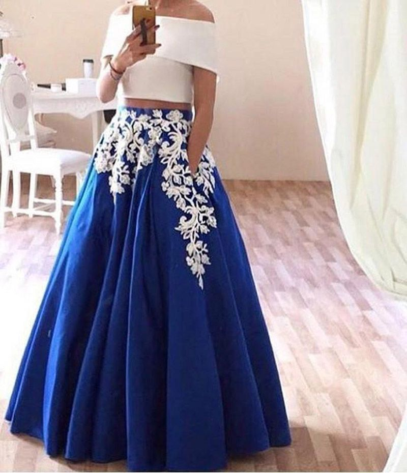 Find More Prom Dresses Information about Cheap Sexy Two Pieces Prom Dresses Long…