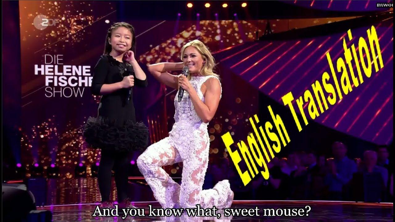 Celine Tam Helene Fischer 2017 You Raise Me Up Interview With Eng Subtitled You Raise Me Up Interview