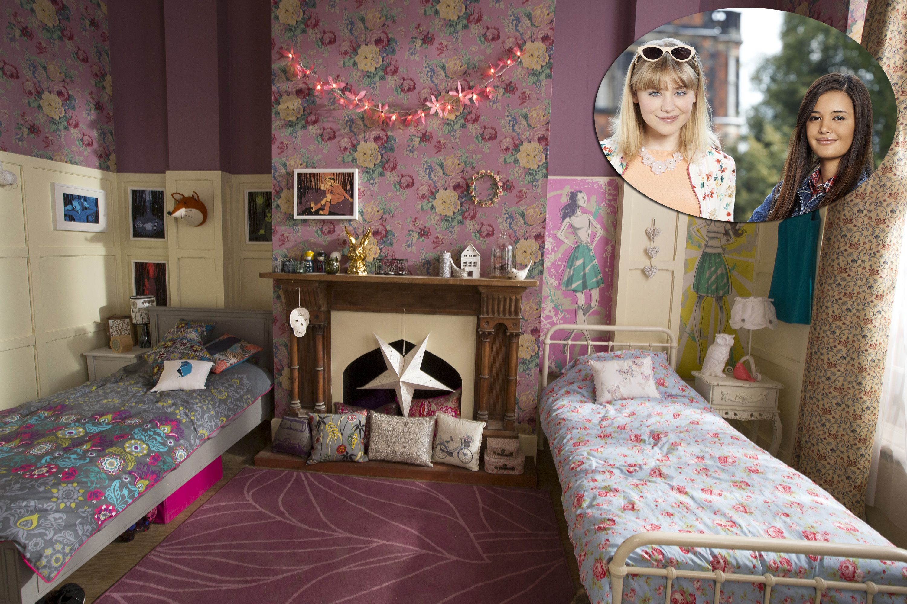 Steal Tara And Bella 39 S Room Style From Disney Channel 39 S 39 Evermoor