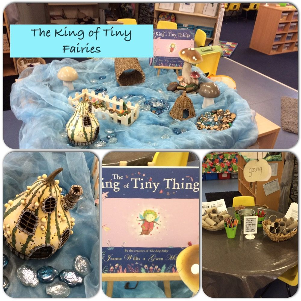 Provocation based on the text The King Of Tiny Things ...