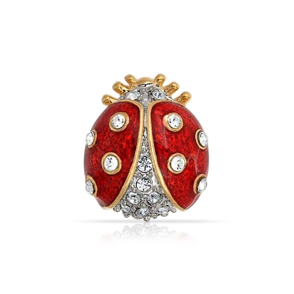Checkout Ladybug Lapel Pin at BlingJewelry.com