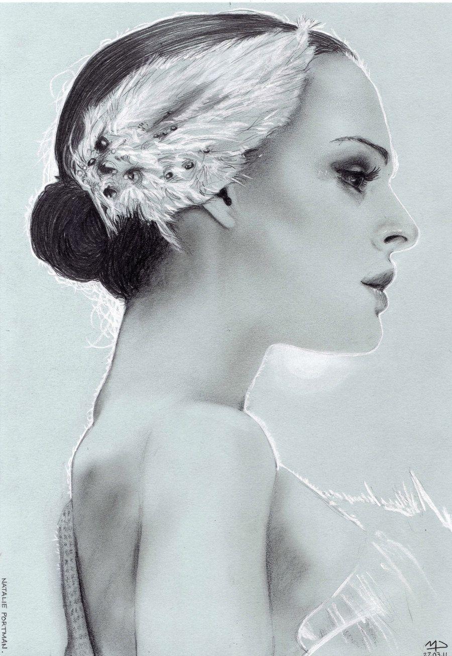 Natalie Portman - Black Swan by ~mattdez on deviantART