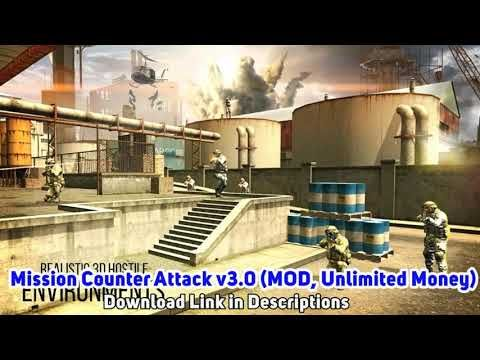 Mission Counter Attack v3.0 Apk (MOD, Unlimited Money