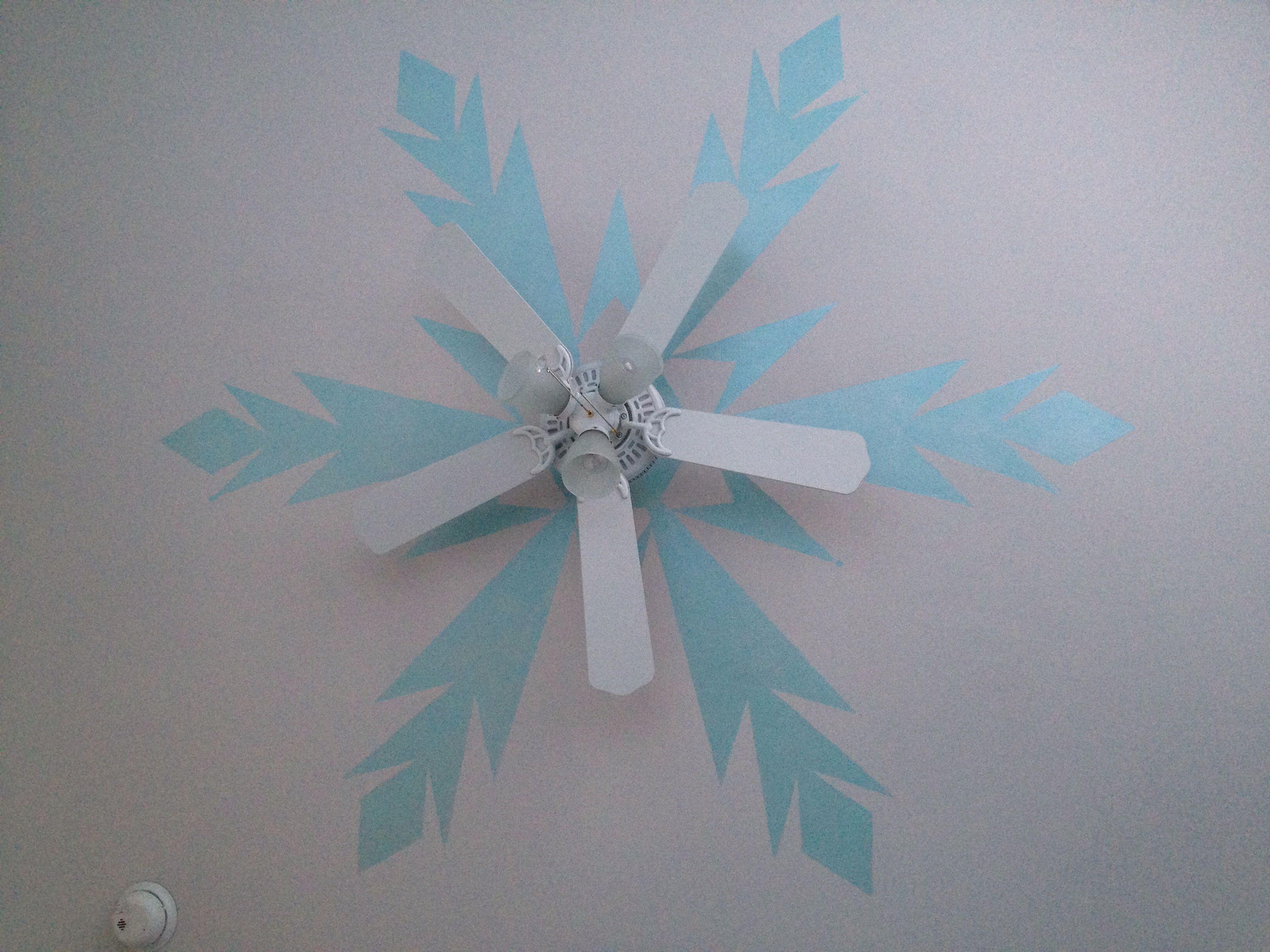 Frozen Ceiling Fan