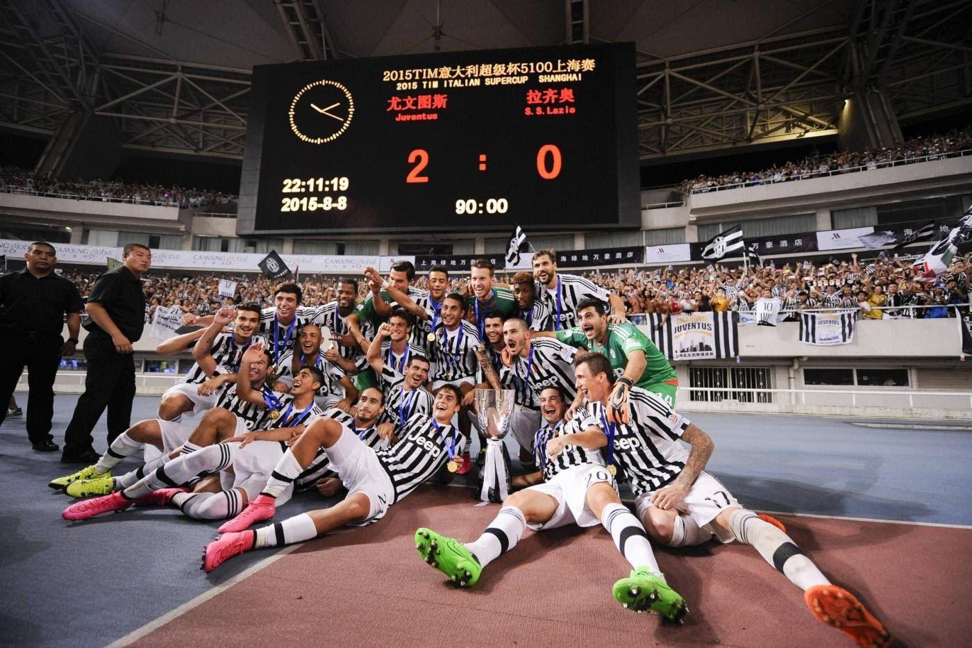 Supercoppa TIM 2015, Juventus-Lazio 2-0 - Italian Super Cup 2015, Juventus-Lazio 2-0 - YouTube