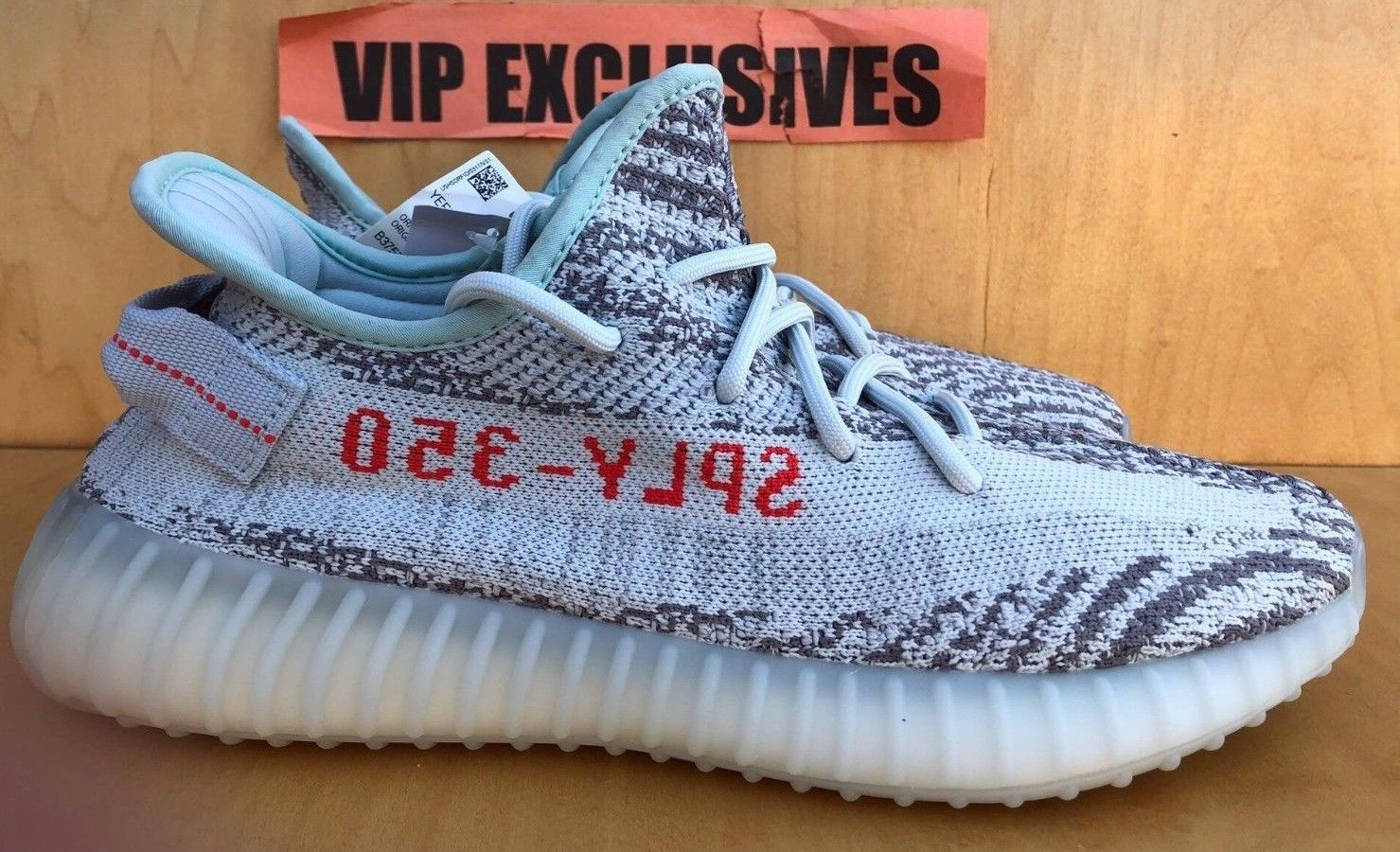 All White Yeezy boost 350 v2 blue tint actual price Light Up