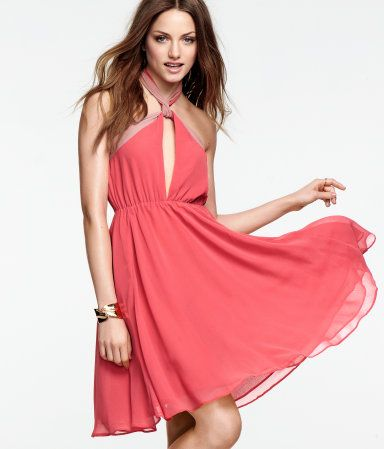 8069db7da59 Great sassy coral Dress from H M £29.99