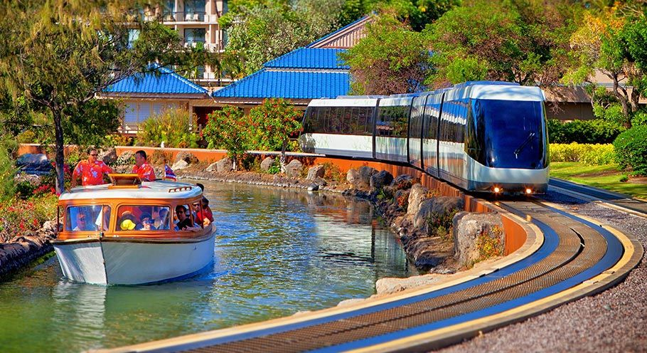 Rooms: Tram & Canal Boats At Hilton Waikoloa Village