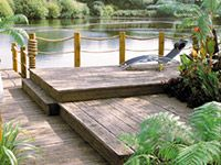 Millboard Decking - Millboard decking is widely specified by designers, architects, local authorities, leisure, corporate and private clients. Whatever the application – Millboard is both an aesthetic and practical choice.  Build beautiful decks, balconies, roof gardens, boardwalks, planters, bridges, pontoons, seats and steps – Millboard decking is suitable for all these and more.