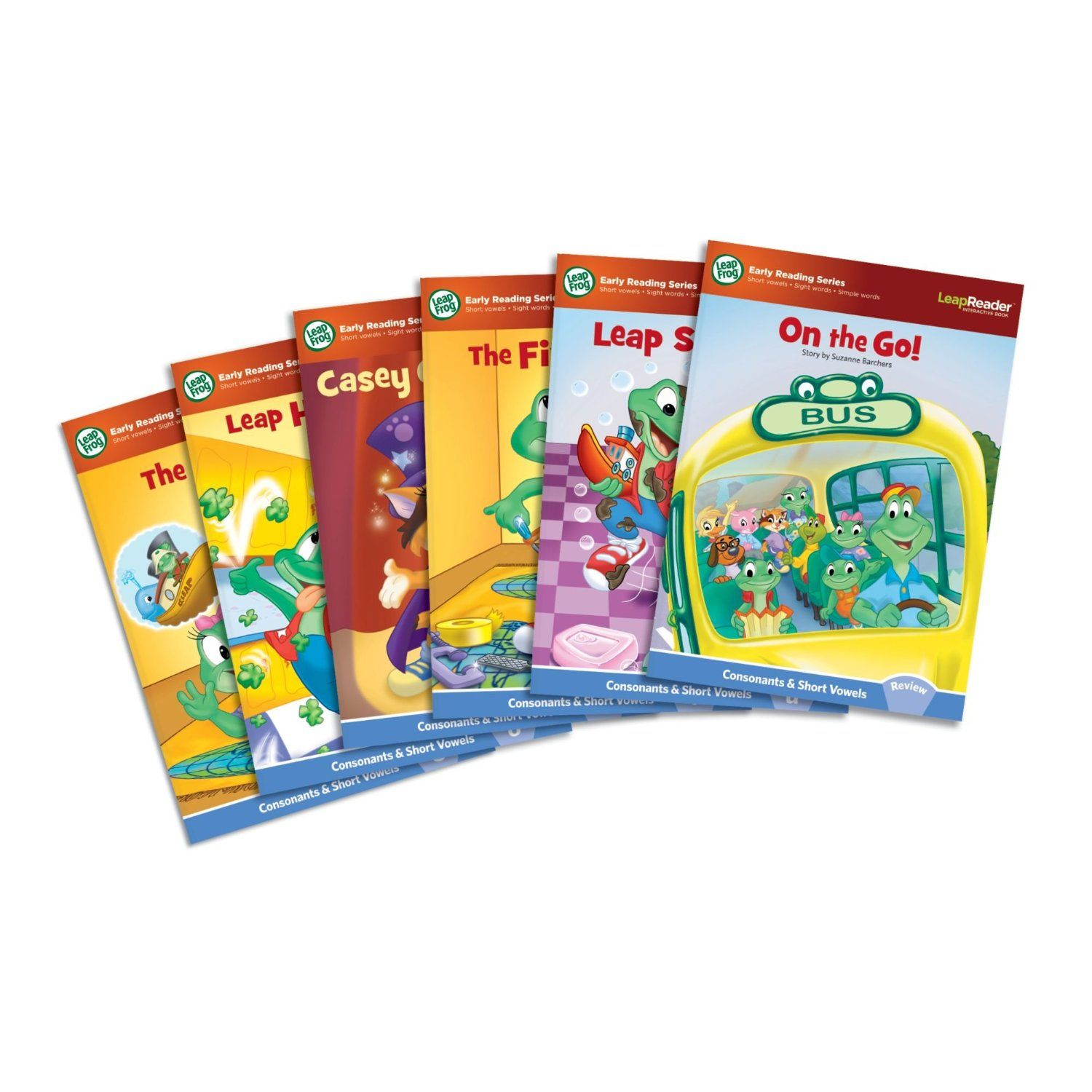 Six LeapFrog LeapReader Learn to Read Books Just $9 lowest price