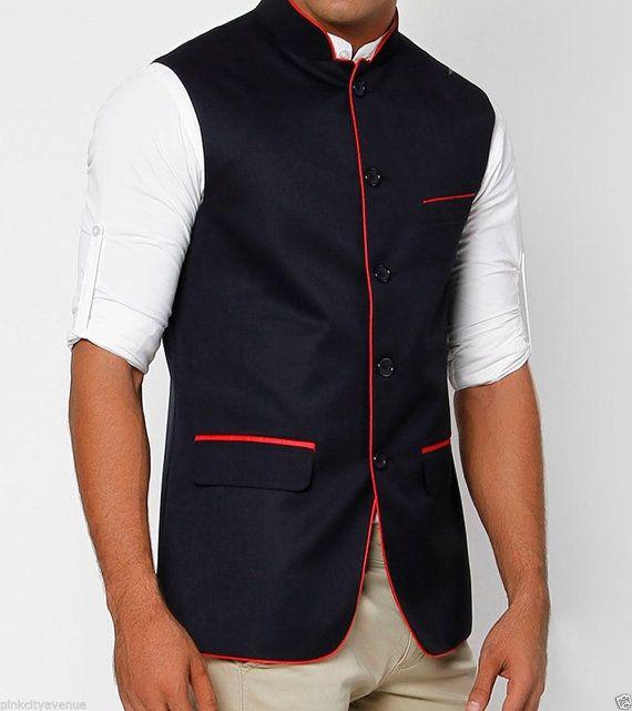 1000  images about Vests/Nehru Jacket on Pinterest   Business