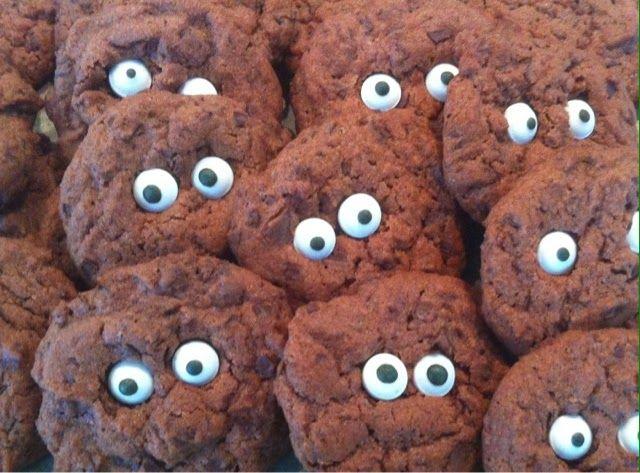 Drachenbabies: : Schoko-Cookies - unser Rezept für das Deutschland-Fußballspiel