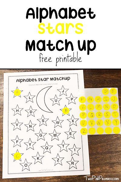 Free Dot Sticker Alphabet Printable Worksheet