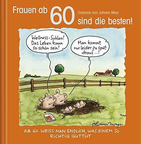 Frauen Ab 60 Sind Die Besten Cartoon Geschenkbuch Zum Runden