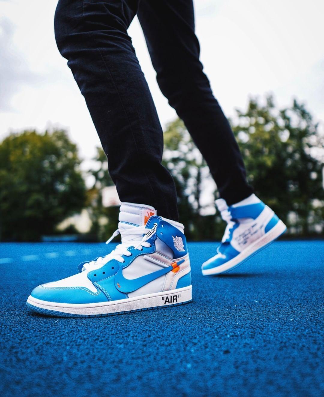Compra Ya Las Air Jordan 1 High Og X Off White University Blue Por