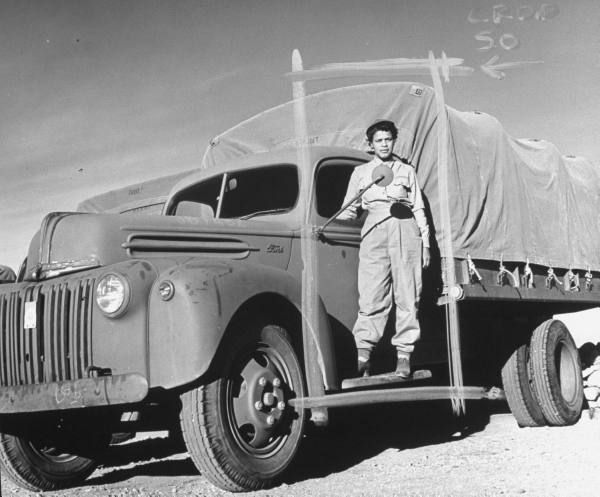 Priscilla Taylor An African American Woman Truck Driver Serving