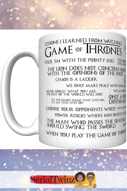 Best Got Gift Ideas Game Of Thrones Mug Game Of Thrones Fans Hbo Game Of Thrones Gift Guide