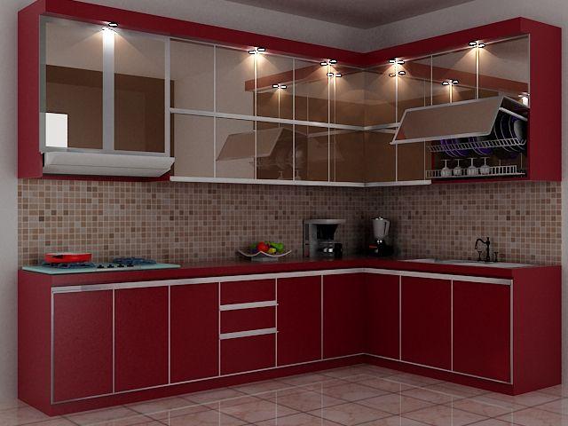 Harga Amp 70 Model Gambar Kitchen Set Minimalis Memiliki Dapur Yang Rapi Bersih Dan Semua Barang Tertata Adalah Impian Dekorasi Dapur Dapur Desain Dapur