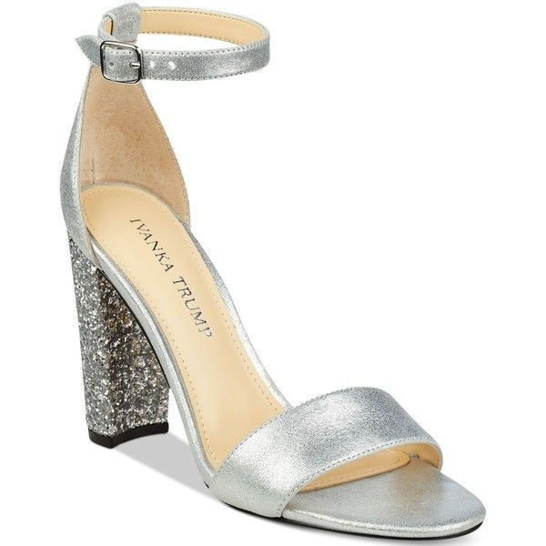 Ivanka Trump Emalyn Block-Heel Sandals (1.622.880 IDR) ❤ liked on