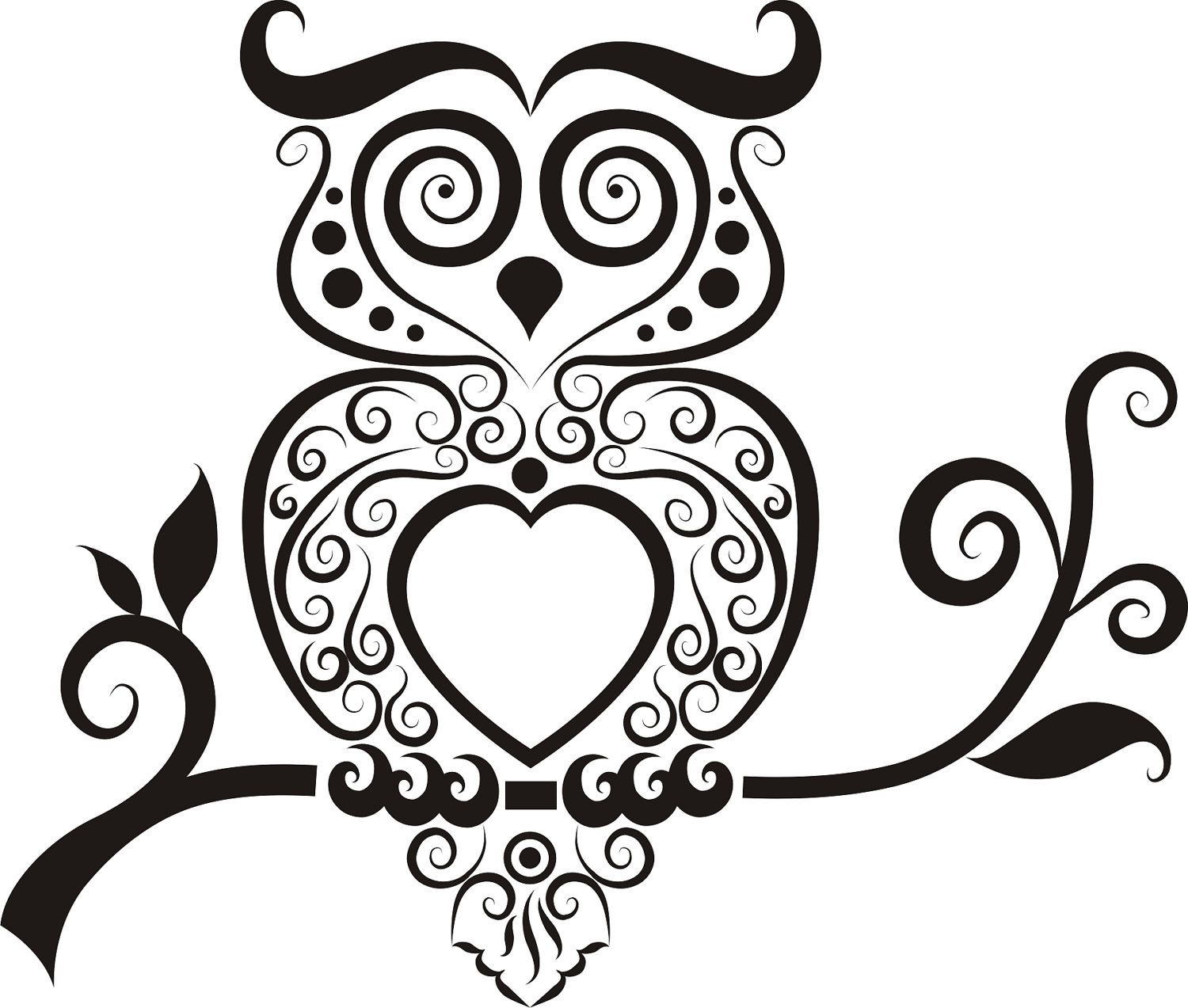 Owl Decal Owl Wall Decal Owl Tatoo Decal Owl Sticker by SBLDesign $24.99  sc 1 st  Pinterest & Owl Decal Owl Wall Decal Owl Tatoo Decal Owl Sticker by SBLDesign ...