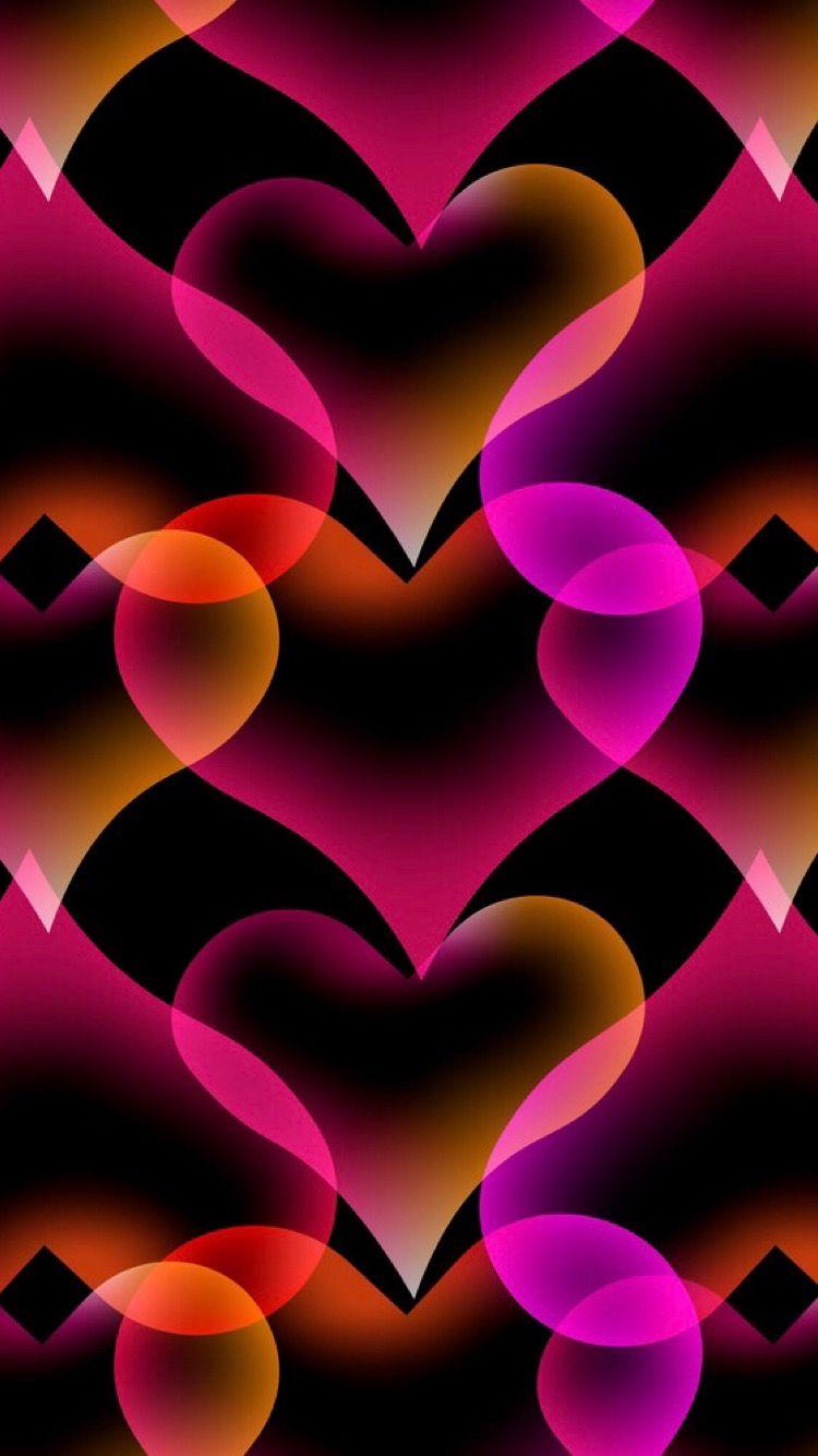 Pin By Nada On Sfondi Cuore Heart Wallpaper Love Animation Wallpaper Cellphone Wallpaper