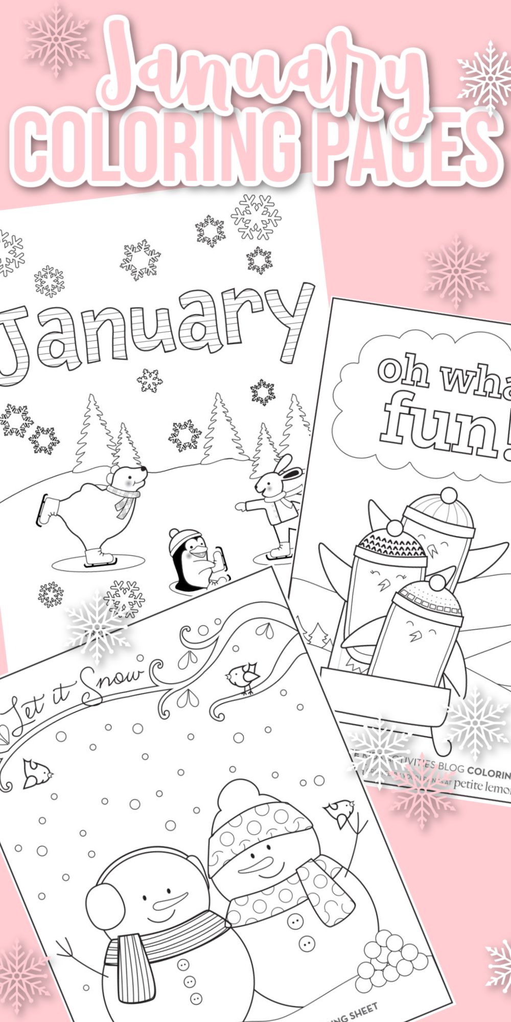 Free January Coloring Pages For Kids In 2021 Kids Printable Coloring Pages Coloring For Kids Free Free Kids Coloring Pages