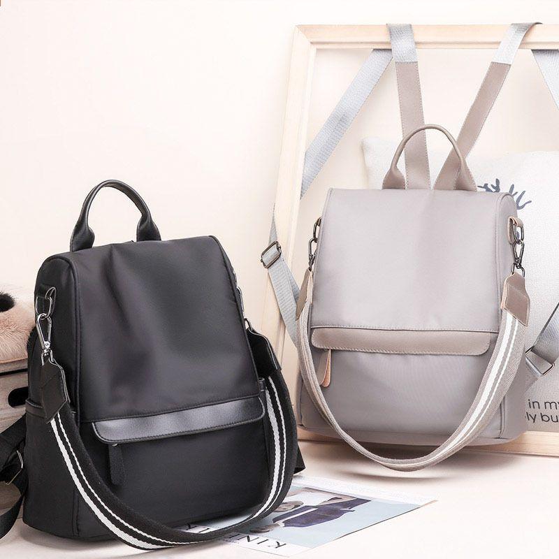 39ea4f6c079a6 SINTIR Wysokiej jakości wodoodporny nylonowy damski plecak Moda szkolny dla  nastolatków Duże torebki damskie na ramię