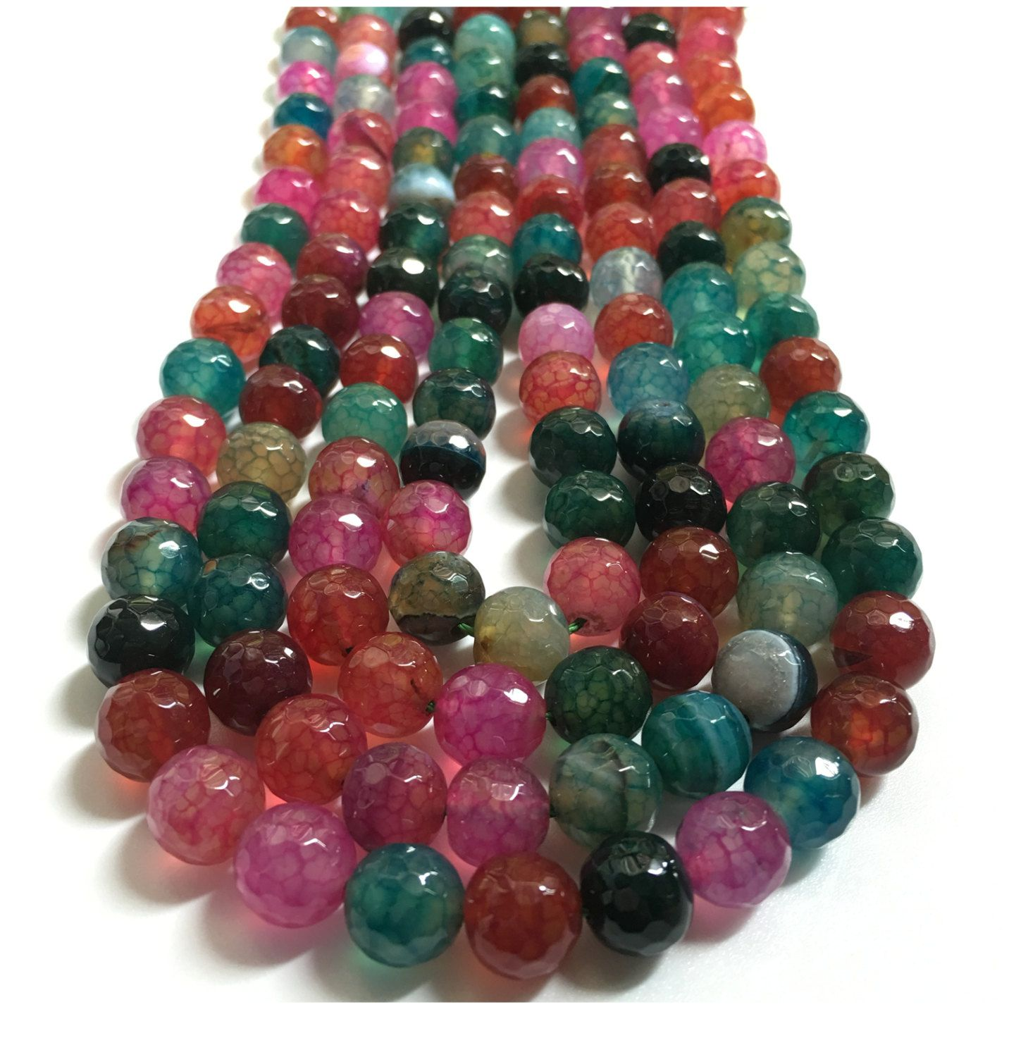 beads for making wholesale jewelry diy pin faceted gemstone