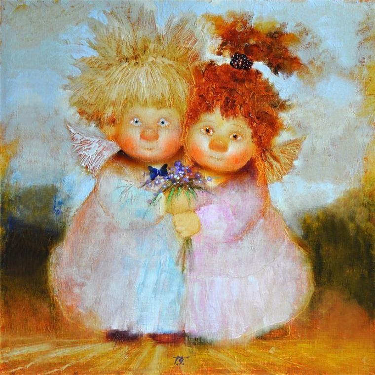 картинки ангелы галины чувиляевой