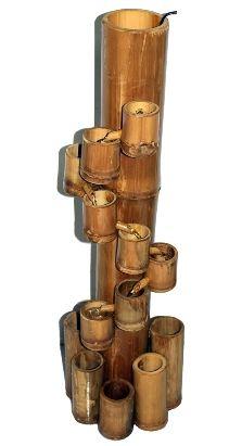Bamboo cascading water fountain 32 tall 9599 eco friendly bamboo cascading water fountain 32 tall 9599 workwithnaturefo