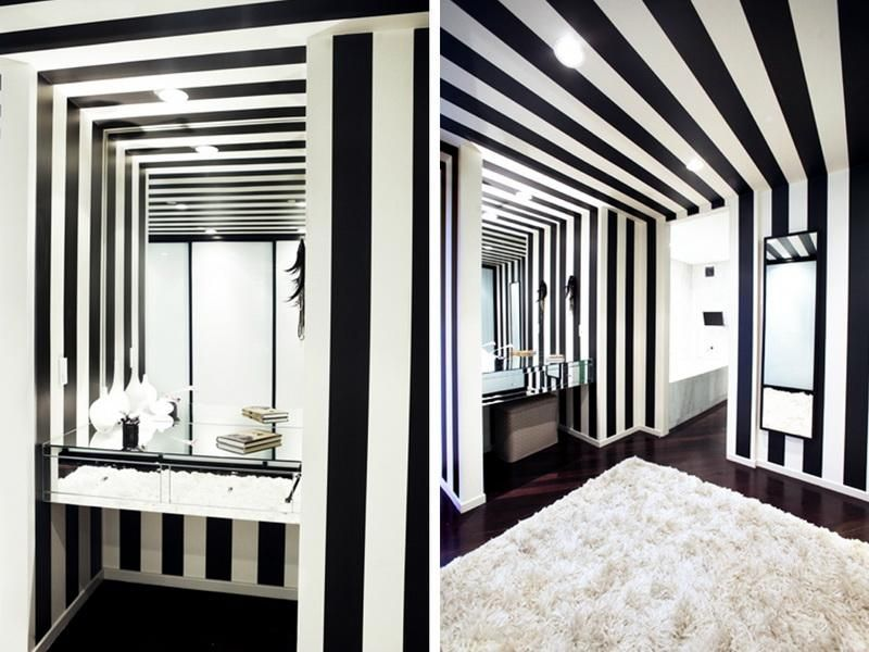 i luv stripes!! <3 | for the home | pinterest | wall stripes