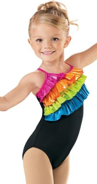 Perfect for gymnastics, dance class, recitals, ballet, Halloween costumes, and flower girl dresses. Adorable styles include our ruffle flutter short sleeve or long sleeve leotard, traditional short sleeve or long sleeve leotard, camisole leotard, or tank leotard. 23 colors including white, ivory, nude, black, and pink.