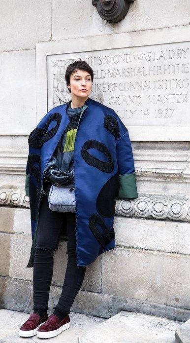 London Fashion Week | Street Style - Street Style - Vogue Portugal por Cláudia Rocha :)