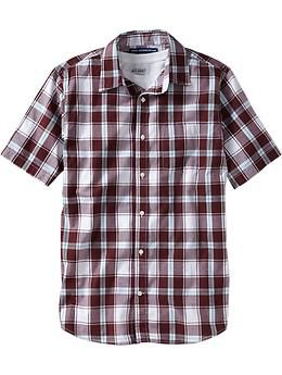 Men's Short-Sleeve Patterned Shirts | Old Navy