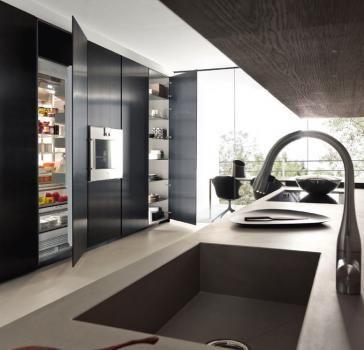 Design di cucine bagni e soggiorni moderni modulnova progetto 02 foto 2