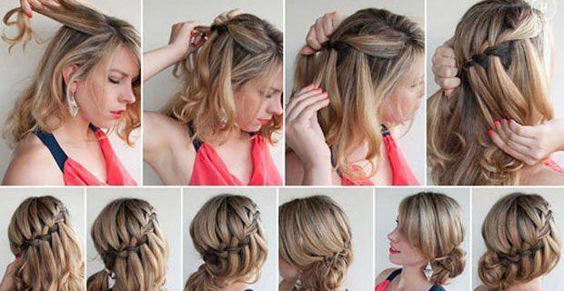 Schnelle frisuren mit schulterlange haaren