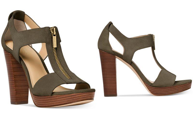21098f35737 MICHAEL Michael Kors Berkley T-Strap Platform Dress Sandals - All Women s  Shoes - Shoes - Macy s