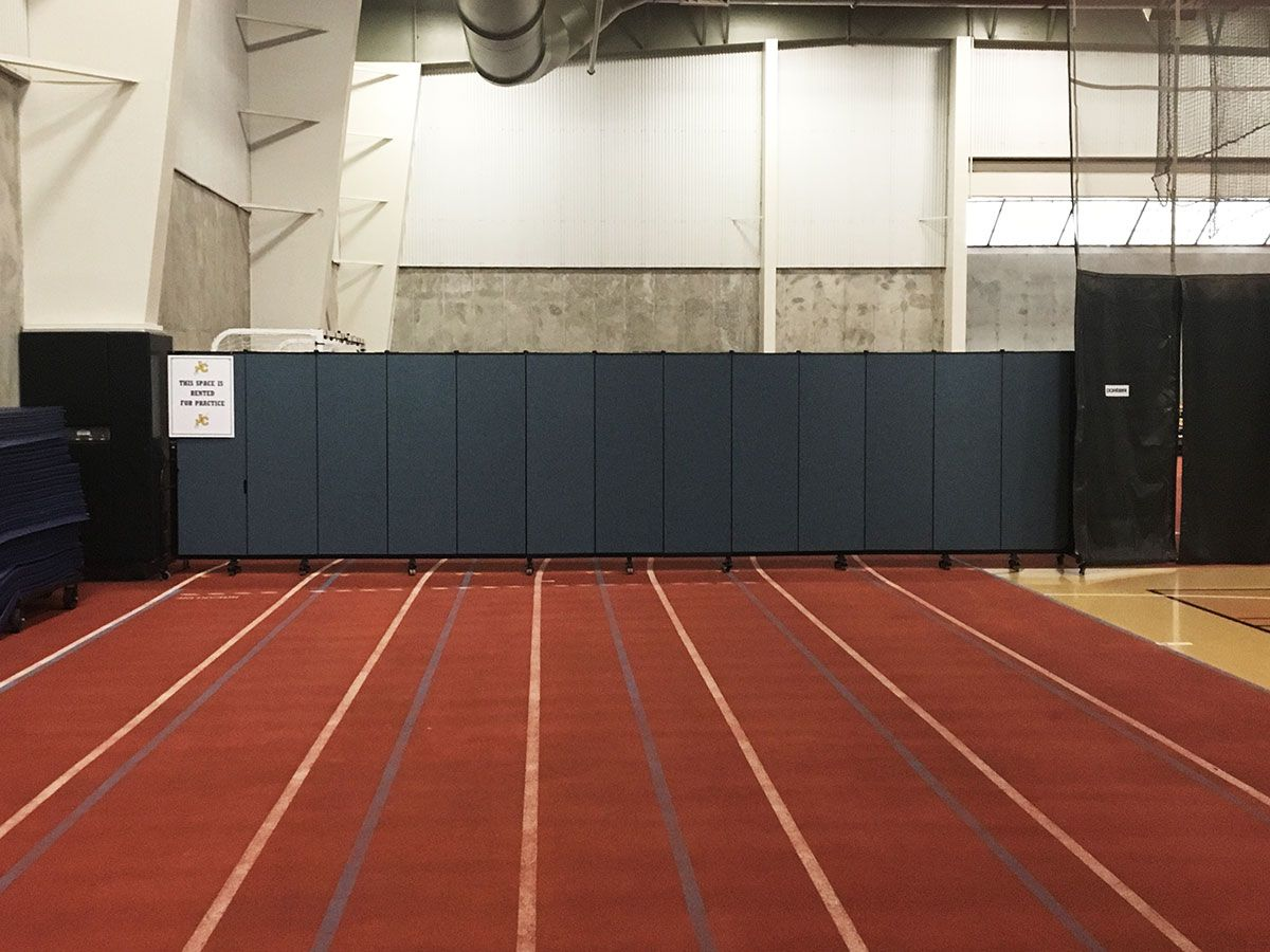Easy To Use Gym Divider Wall Portable Room Dividers Divider